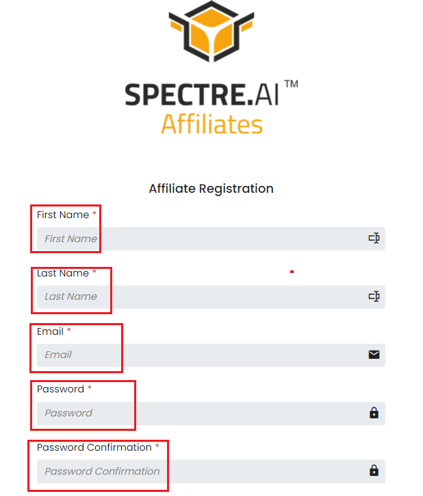 How to Join Affiliate Program in Spectre.ai