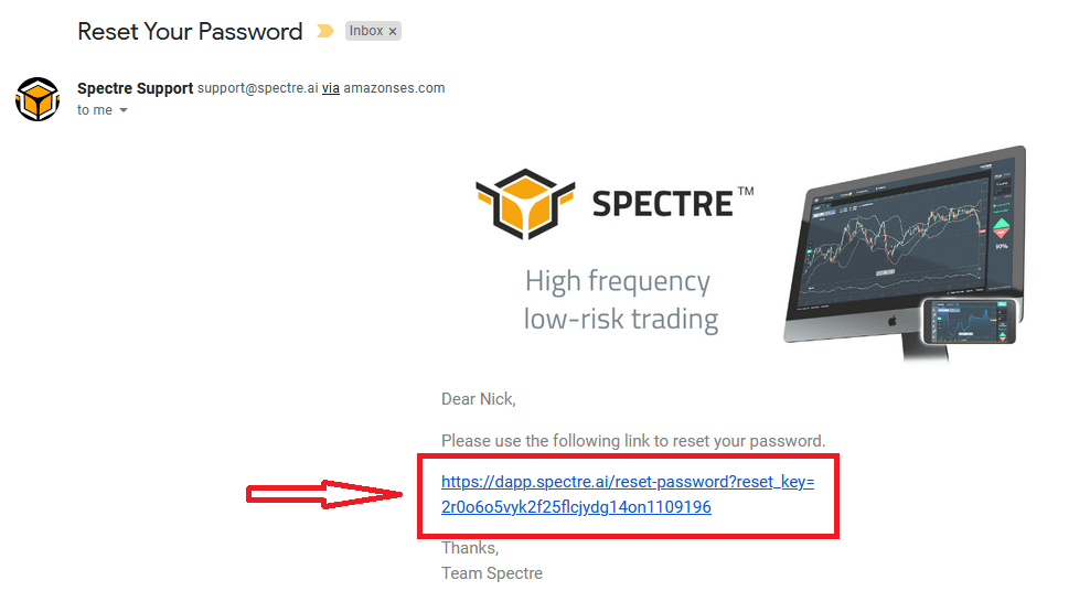 How to Open Account and Sign in to Spectre.ai